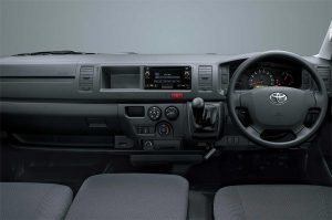 Interior Dashboard Toyota Hiace